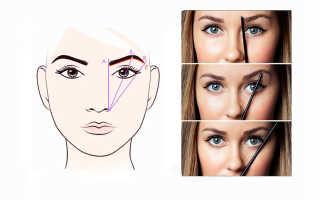 Как выбрать брови по типу лица