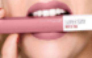 Стойкая помада для губ: рейтинг, отзывы, топ лучших