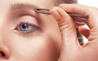 Как выщипать брови не больно
