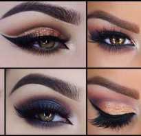 Серые тени для карих глаз