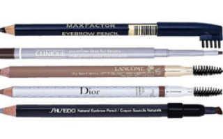 Как правильно подобрать карандаш для бровей