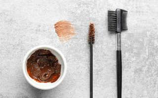 Как развести краску для бровей