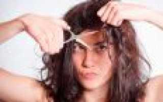 Как правильно подровнять волосы в домашних условиях