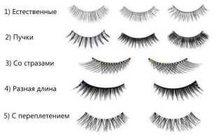 Накладные ресницы: как правильно подобрать и использовать в макияже