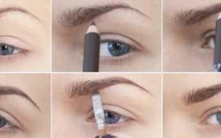 Как пользоваться карандашом для бровей