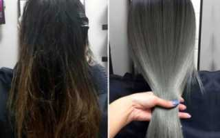 Как сделать мелирование на черные и темные волосы с видео и фото