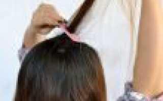 Как самостоятельно дома сделать причёску с начёсом