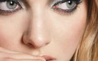 Цвет теней для серых глаз