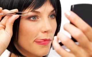 Как научиться выщипывать брови