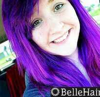 Как убрать фиолетовый оттенок с волос после окрашивания
