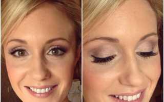 Свадебный макияж: пошагово+фото