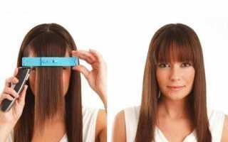 Как подстричь челку самостоятельно или домашний салон красоты